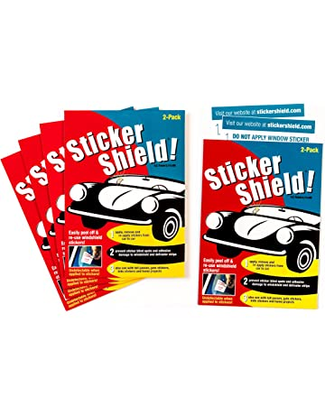 45ed9bce06 Sticker Shield - Windshield Sticker Applicator for Easy Application