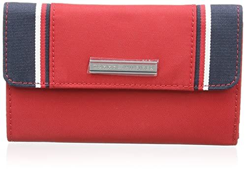 Tommy Hilfiger Pamela Large Zip W/Flap - Cartera para Mujer, Color Chilli Pepper, Talla única: Amazon.es: Zapatos y complementos