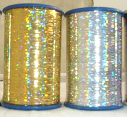 Metallic Embroidery Thread Silver 3000 Meters