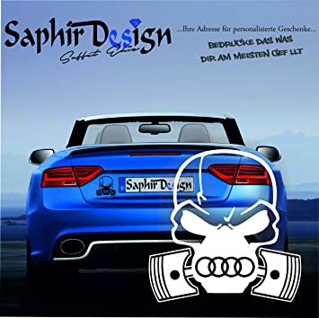 Audi Totenkopf Sehr Coole Aufkleber Tuning Autoaufkleber A99