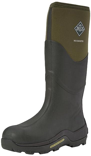 Muck Boots Unisex-Erwachsene Muckmaster High Gummistiefel, Braun (Moss/Moss ),