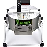 Risentek Electric Bud Leaf Trimmer Machine Model-XLE 16-inch Automatic Open Top Hydroponic Bowl Trim Reaper Spin Cut Plant Bu