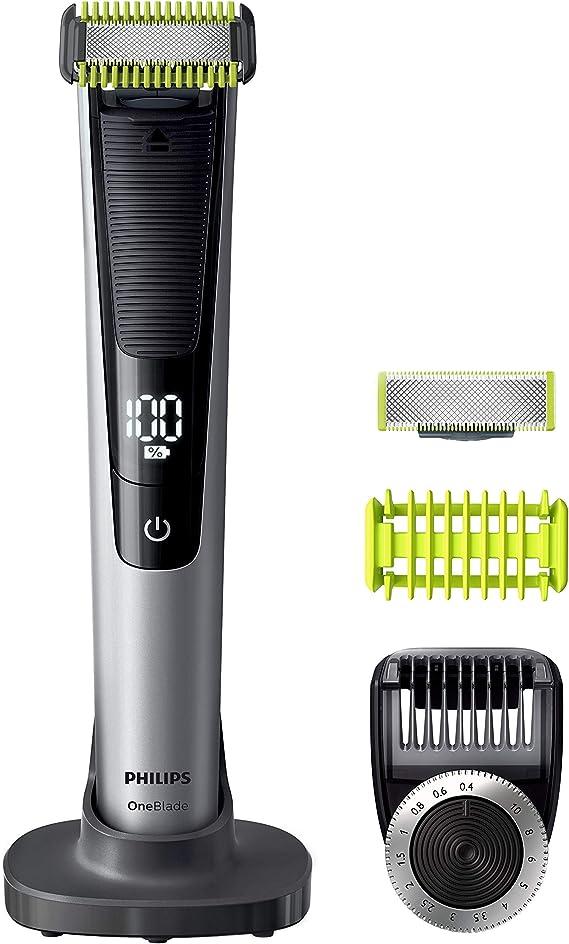 Philips QP6620/30 OneBlade Pro Cara y Cuerpo - Recortador de Barba ...
