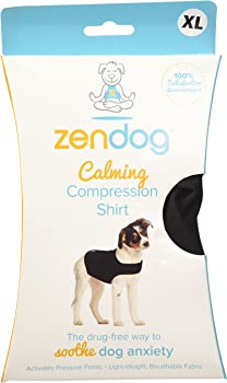 ZenPet ZenDog Calming Compression Dog Shirt