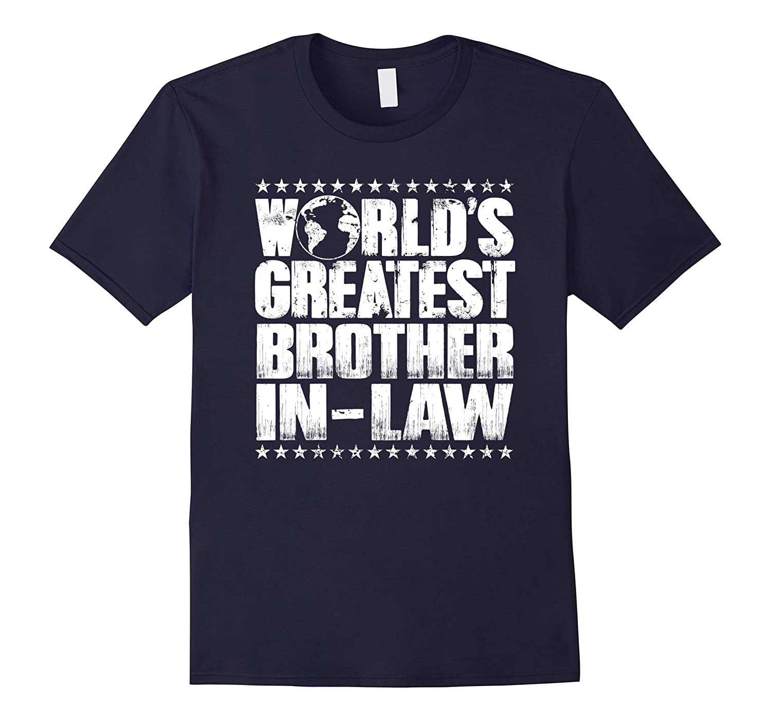 World's Greatest Brother in Law T Shirt -Best Ever Award-CL