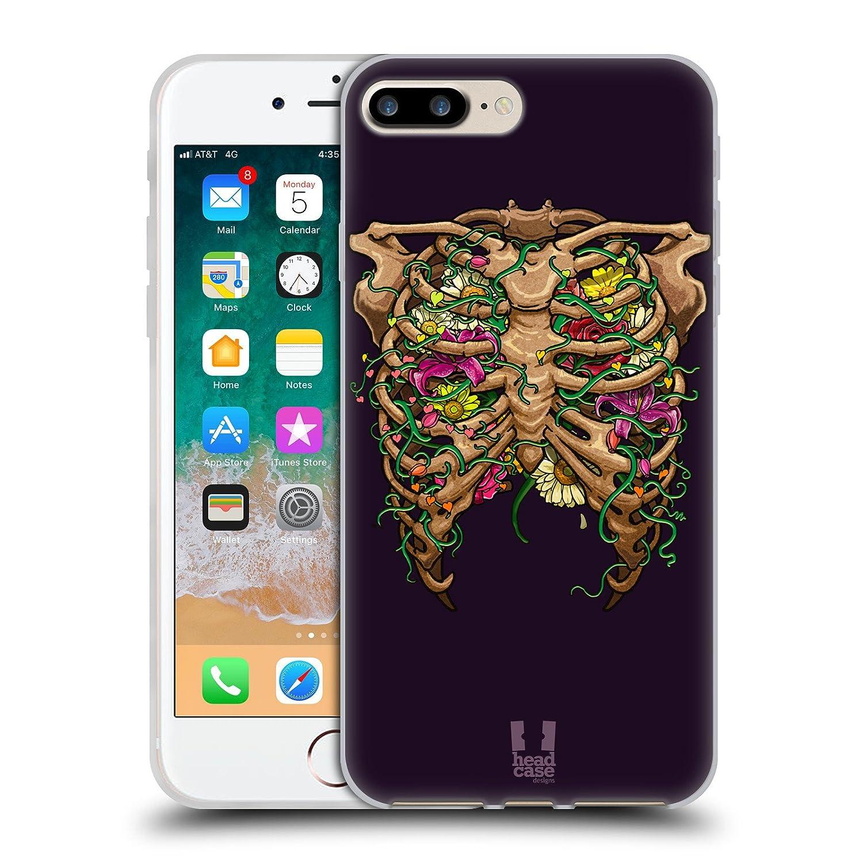Amazon Head Case Designs Rib Cage Flora Human Anatomy Soft Gel