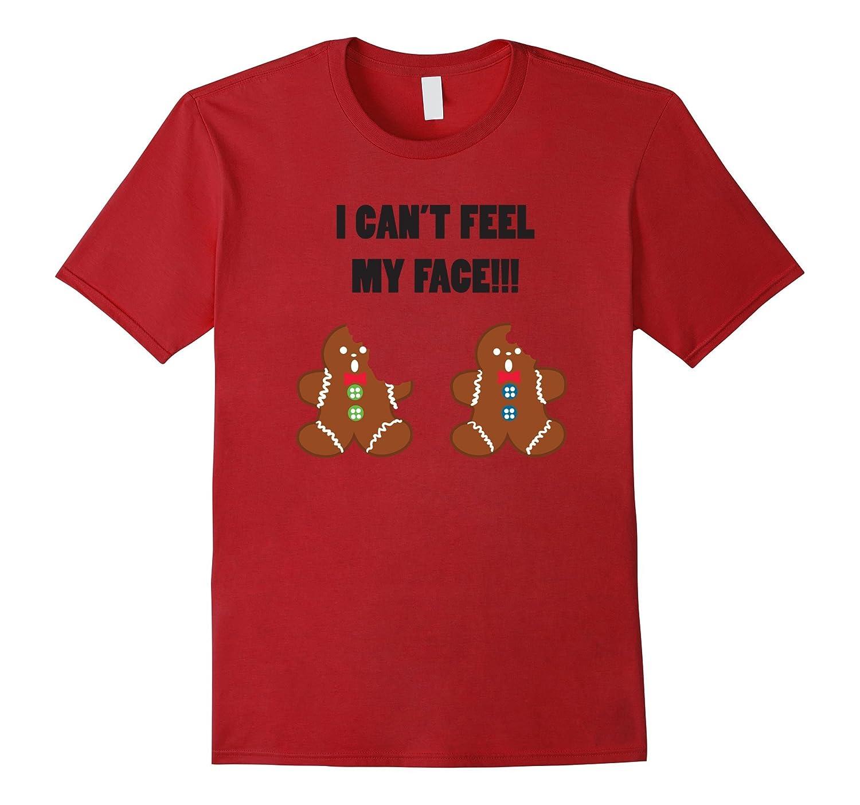 28ebfbca Gingerbread Men Funny Christmas Tee Shirt - Adult T Shirt-ANZ ...