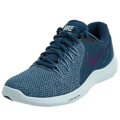 c09775e3 Amazon.com   Nike Womens Lunar Apparent Running Shoe Space  Blue/Ink-Cerulean-Glacier Blue 7   Road Running