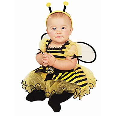 baby infant honey bee halloween costume 6 12 months 3 piece set