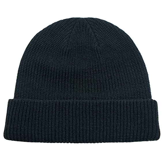 Connectyle Classic Men  s Warm Winter Hats Thick Knit Cuff Beanie Cap Daily Beanie  Hat a80eacfcdef
