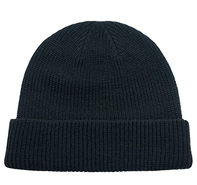Connectyle Classic Men  s Warm Winter Hats Thick Knit Cuff Beanie Cap Daily Beanie  Hat 864b04d7bc8