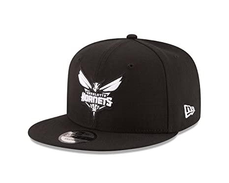 9136edfc71b Image Unavailable. Image not available for. Color  New Era NBA Charlotte  Hornets Men s 9Fifty Snapback Cap ...