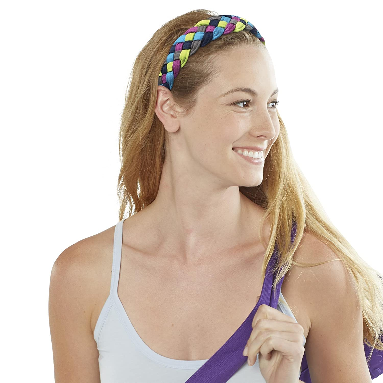 Gaiam 5-Braid Yoga Headband 05-61850 Accessory Fitness//Self-Help