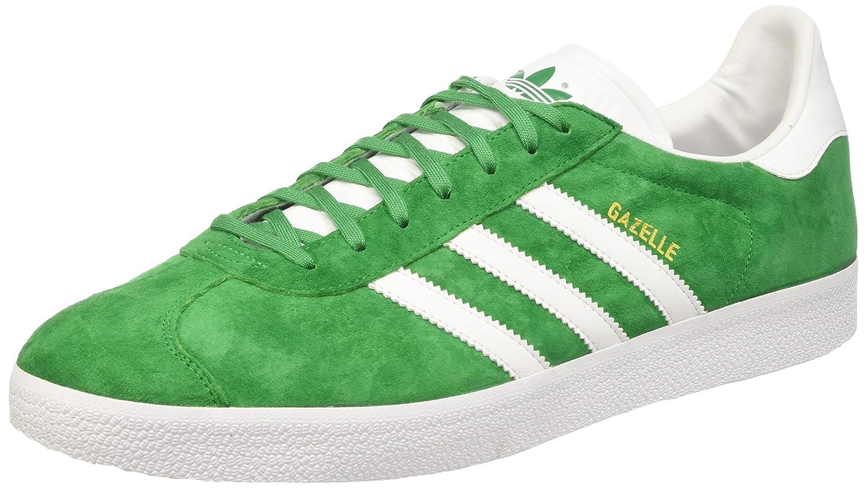 Adidas Originals Gazelle, Zapatillas Casual Unisex Adulto 38 EU|Varios Colores (Green/White/Gold Metalic)