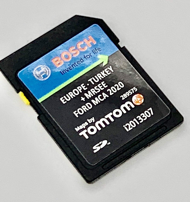 Última tarjeta SD 2020/2021 para Ford MCA SD Card 2020/2021 pantalla táctil – FOCUS, KUGA, MONDEO, S-MAX, GALAXY – Cover All Europe V10, número de pieza: i2013307: Amazon.es: Electrónica