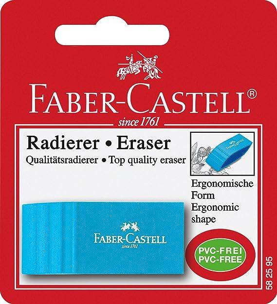 sortiert FABER-CASTELL Radierer GRIP ERASER CAP