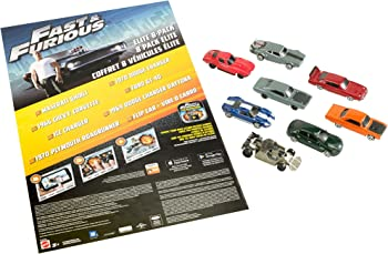 8-Pcs. Mattel Fast & Furious Elite Diecast Vehicles