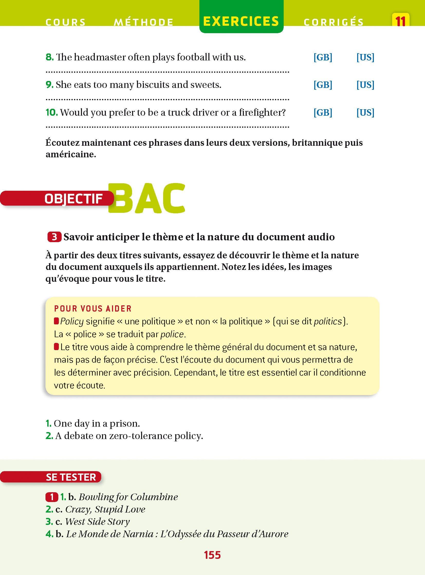 Anglais Tle - Prépabac Cours & entraînement: Cours, méthodes et exercices - Terminale: Amazon.es: Martine Guigue, Sylvie Collard-Rebeyrolle: Libros en ...