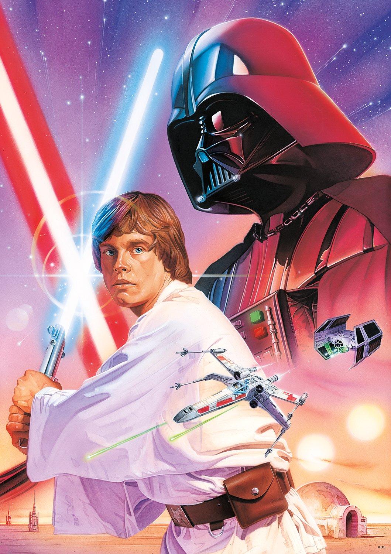 Buffalo Games Star Wars - ''Luke Skywalker and Darth Vader'' - 300 Large Piece Jigsaw Puzzle