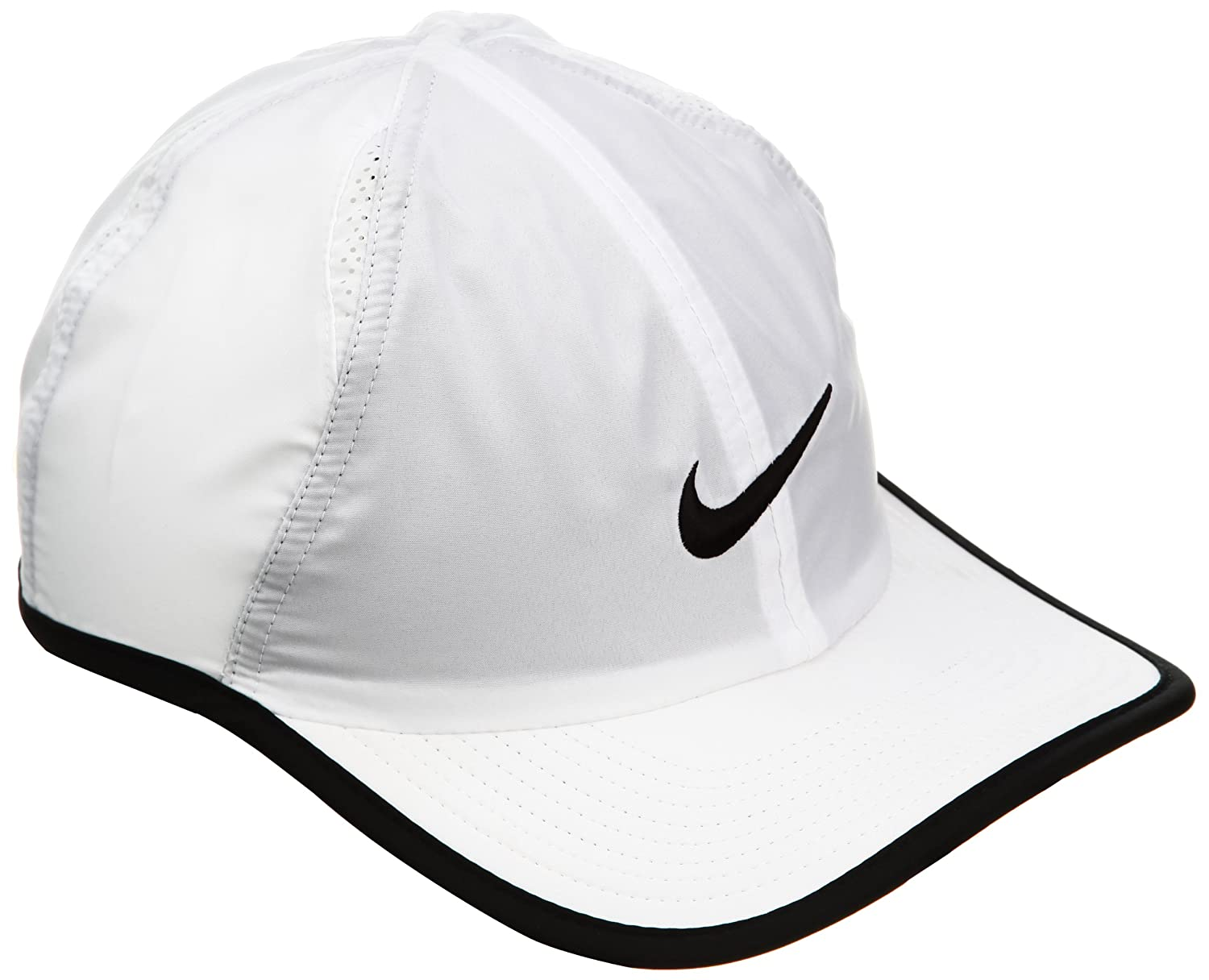 Amazon.com  Nike Feather Light 2.0 Hat-white  Sports   Outdoors 771c292a7c