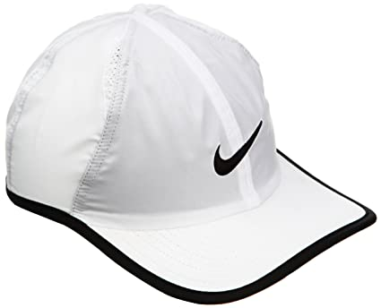 Amazon.com  Nike Feather Light 2.0 Hat-white  Sports   Outdoors dd0c77930d6