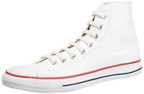 Converse Men's White Canvas Sneakers