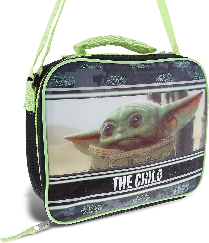 STAR WARS DARK SIDE CHILDS INSULATED SCHOOL STRAP LUNCH BAG /& BOTTLE KIDS BOYS