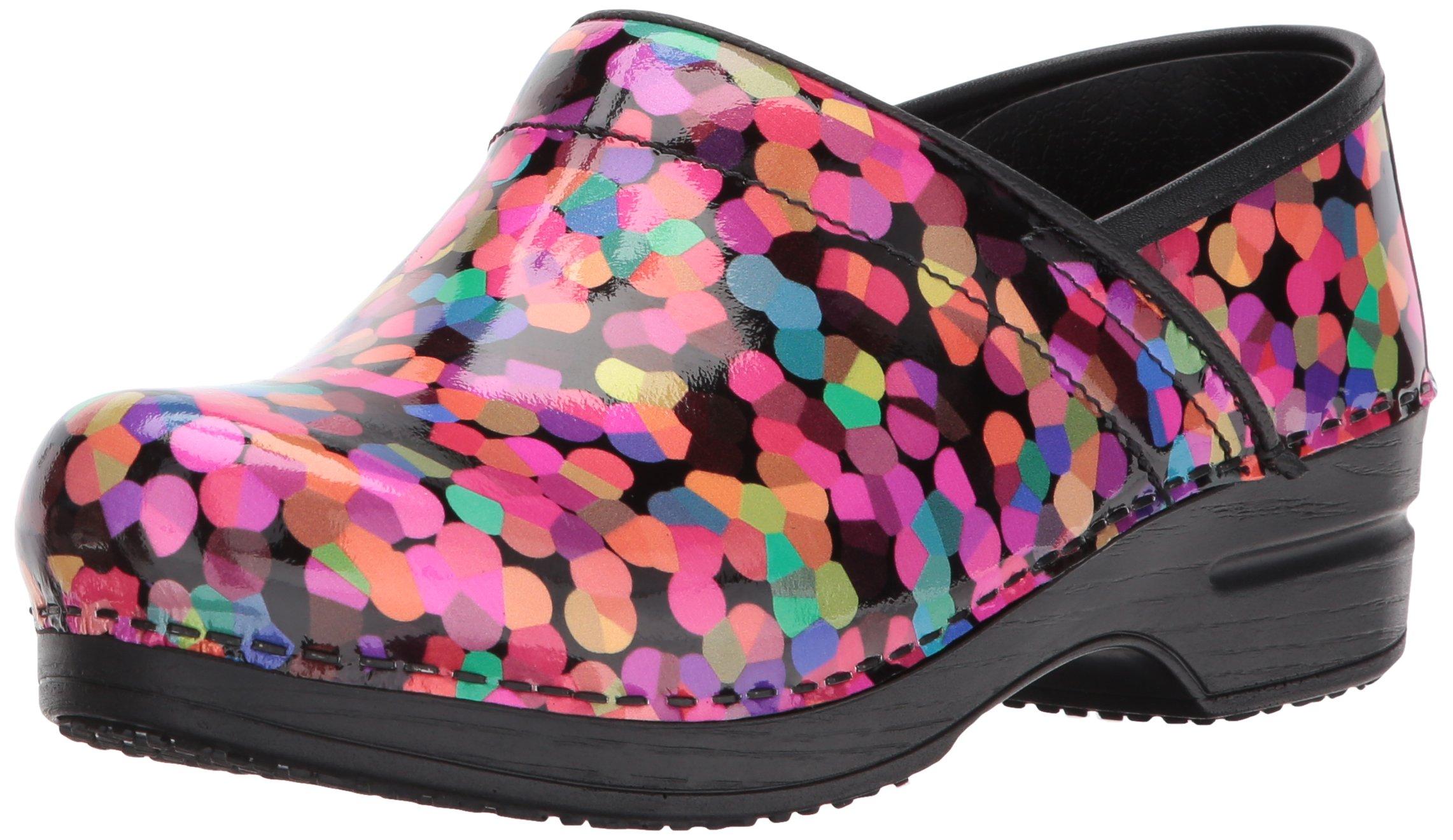 Sanita Women's Smart Step Scarlette Work Shoe, Multicolor, 39 EU/8/8.5 M US