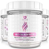 Multi Collagen Peptides Powder – #1 Dissolving Collagen Powder Type I,II,III,V &...