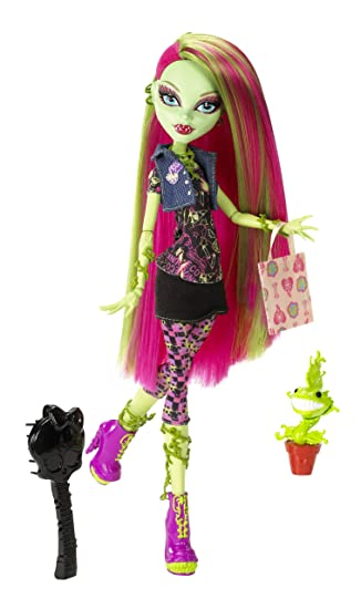 Amazon.com: Monster High Venus McFlytrap Doll: Toys & Games