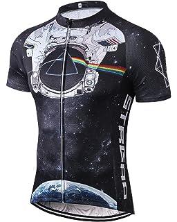 Amazon.com   Aogda Cycling Jersey Men Bike Shirts Breathable Short ... 0c519467c