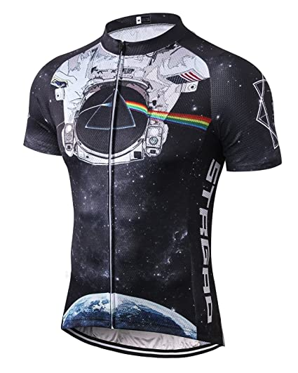 6bbe795cd1d Amazon.com   MR Strgao Men s Cycling Jersey Bike Short Sleeve Shirt ...