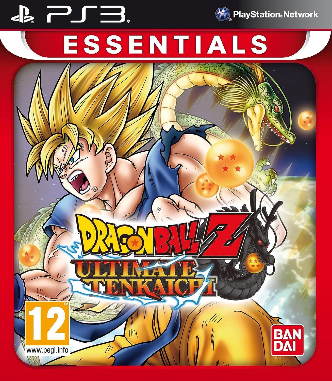 Amazon com dragon ball z ultimate tenkaichi essentials ps3 uk import video games