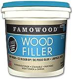 Famowood 40002126 Latex Wood Filler, Natural, One gallon