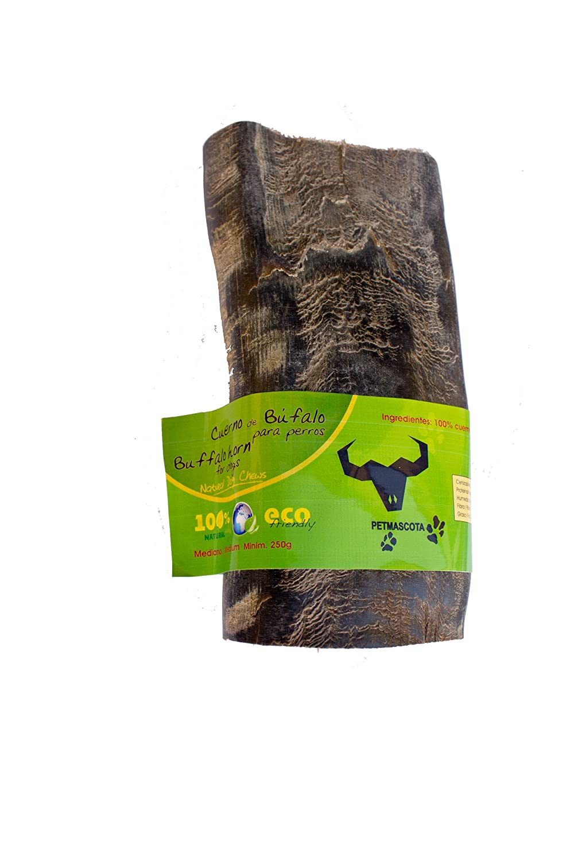 Cuerno de Búfalo para perros - 100% Naturales. Talla M (Mediano): Amazon.es: Productos para mascotas