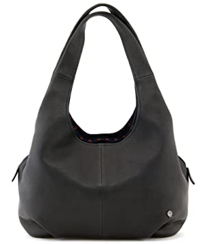 Yoshi Meehan soft, slouchy leather shoulder bag YB31 Black  Amazon.co.uk   Luggage 52b9bc7278
