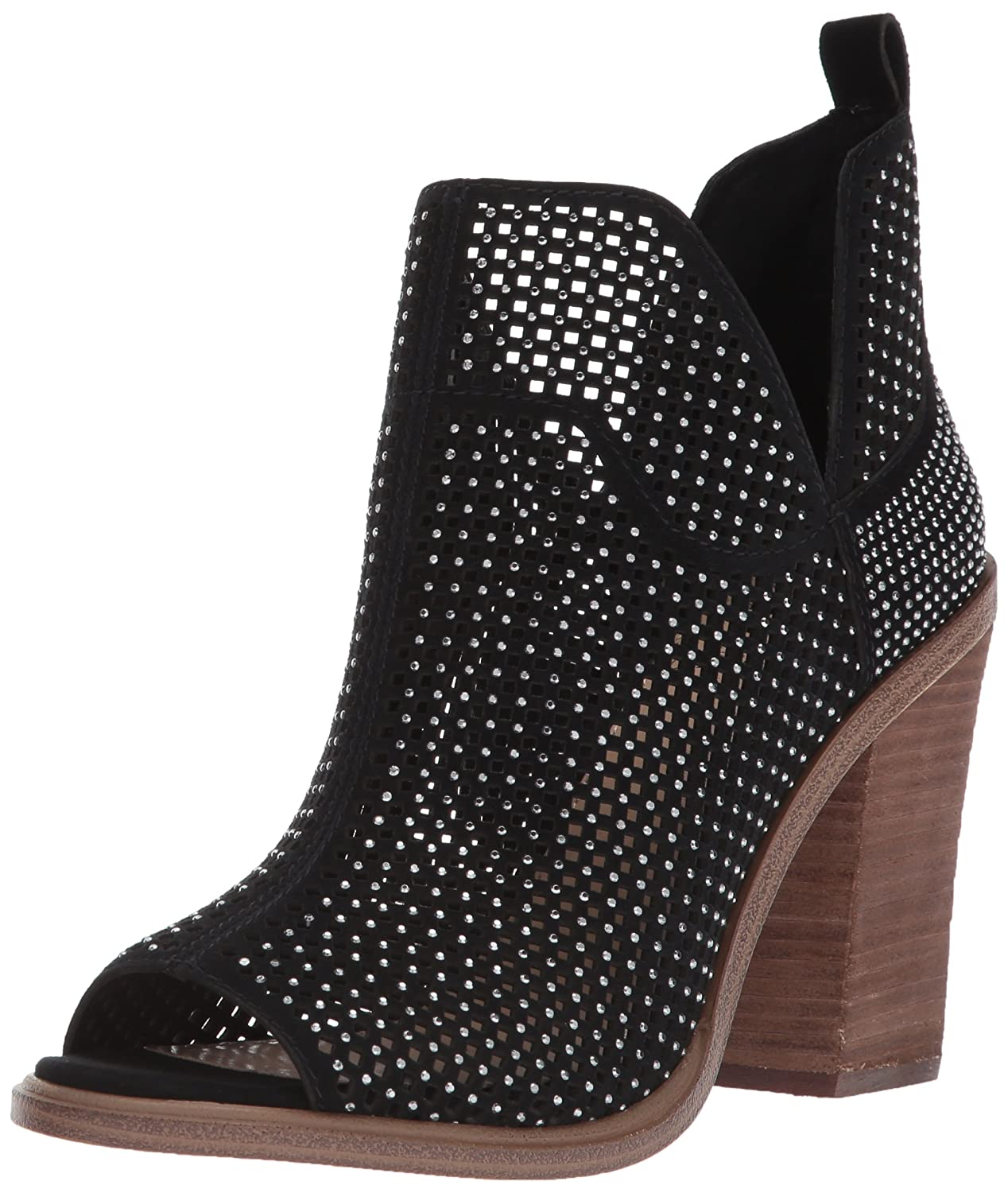 Vince Camuto Women's Kiminni Ankle Boot B07693KVLW 5.5 B(M) US|Black