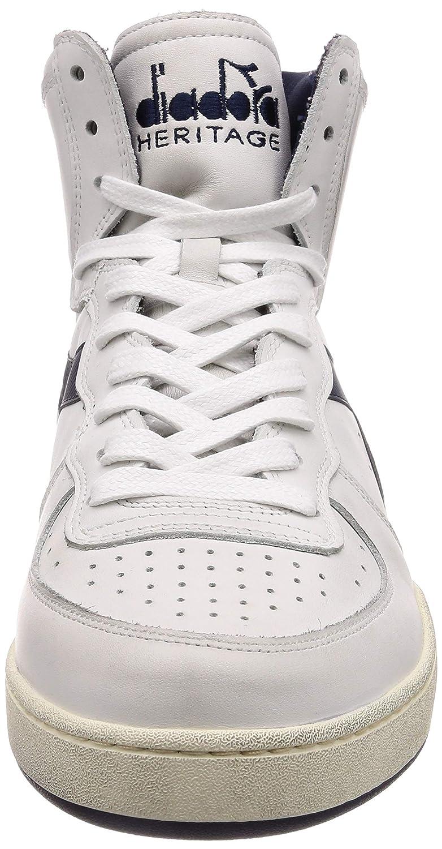 Diadora Heritage Herren High Sneaker Mi Basket Used 158569
