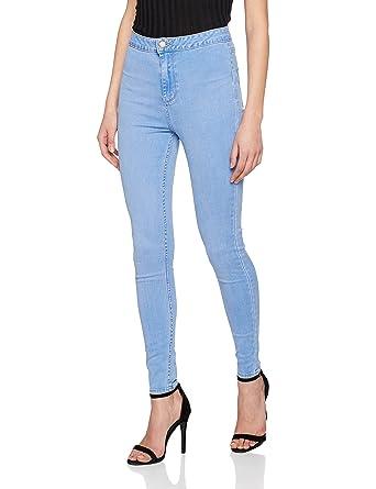 3fd76cecc8b New Look Women's 5044364 Skinny Jeans, (Light Blue), 6/L32 (