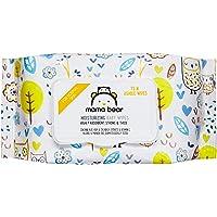 Amazon Brand - Mama Bear Moisturizing Baby Wet Wipes - 72 usable wipes, With Lid