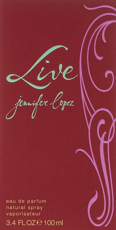 Jennifer Lopez Live Agua de perfume Vaporizador 100 ml