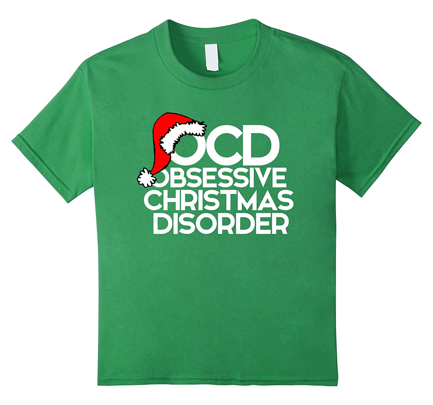 Amazon.com: OCD Obsessive Christmas Disorder shirt for xmas party ...