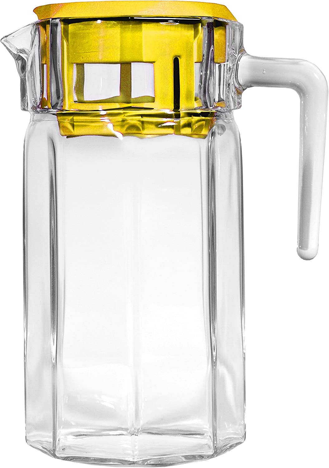 Clear Pitcher with 4 Stackable DOF