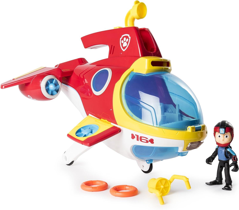 Paw Patrol Sub Patroller 6040054 Vehículo de juguete de la Patrulla Canina