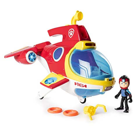 f117b4ec16 Amazon.com: PAW Patrol Sub Patroller Transforming Vehicle with Lights  Sounds and Launcher, Ages 3 & Up: Toys & Games