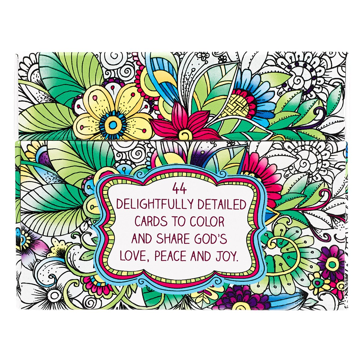 The coloring book of cards and envelopes flowers and butterflies - Amazon Com Creative Expressions Cards To Color And Share 6006937132573 Christian Art Gifts Books