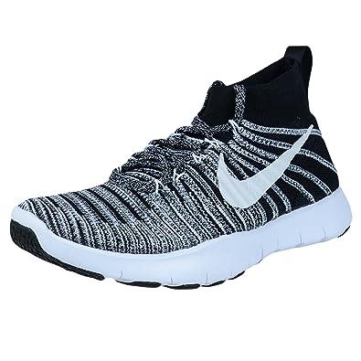 online retailer 5586a e3b88 Nike Free Train Force Flyknit 833275 002 (7, Black White Grey)