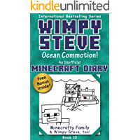 Wimpy Steve Book 10: Ocean Commotion! (An Unofficial Minecraft Diary Book) (Minecraft Diary: Wimpy Steve)
