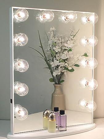 Amazoncom Hollywood Glow Xl Vanity Mirror By Impressions Vanity