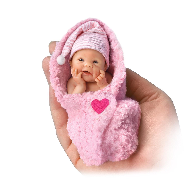 Ashton Drake Bundle Of Love Lifelike Miniature Baby Doll
